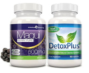 Maqui Berry Detox Combo Pack 1 Month Supply