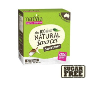 Natvia Sugar Free Sweetener Sticks 40 per pack
