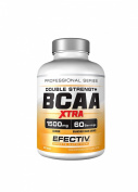Efectiv Sports Nutrition BCAA Double Strength Xtra Tablets - Pack of 180