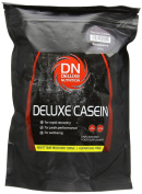 Deluxe Nutrition 500g Strawberry Micellar Casein Night Time Muscle Recovery Drink