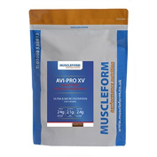 Muscleform AVI-PRO XV Whey Protein Concentrate 83% 1kg - Fast Delivery - Double Chocolate