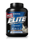 Dymatize Elite 100 Percent Whey Protein Cookies And Cream 2.3kg 65 Servings