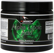 AI Sports Nutrition Alpha Lipoic Acid - 180 Capsules