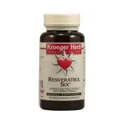 Kroeger Herb Resveratrol Six Herbal, 60 CAPS