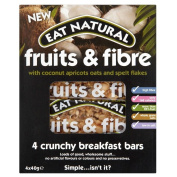 Eat Natural Fruits & Fibre Bar with Coconut, Apricots, Oat & Spelt Flakes