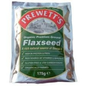 Prewetts Org Ground Flaxseed 175g