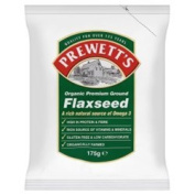 Prewetts Org Ground Flaxseed 175g x 3