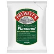 Prewetts Org Ground Flaxseed 175g x 3