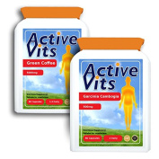 ActiveVits Green Coffee and Garcinia Weight Loss Combo