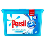 Persil Dual Action Non Bio Laundry Capsules - 28 Washes