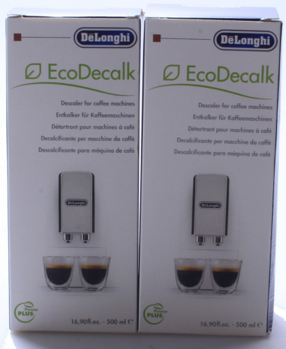 Delonghi Magnifica Coffee Maker Machine Descaler (2x500ml bottles). Huge Savin eBay