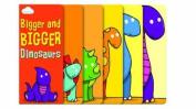 Bigger and Bigger Dinosaurs (Layered Page Story Board Book)