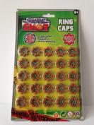 8 Shot Caps - 25 rings per card - 200 Shots per Card - Choose Your Pack