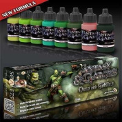 Orcs and Goblins paint set SSE016