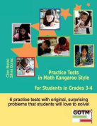 Practice Tests in Math Kangaroo Style for Students in Grades 3-4