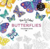 Vive le Color! Butterflies (Coloring Book)