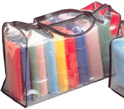 Hair Tools Cling Rollers & Carry Bag - Standard Set