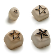La Dot KTP002 Temporary Tattoo Stones Star Design Set of 4