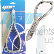 Professional Toe Nail Cutters Clippers Nippers Chiropody Podiatry Heavy Duty - For Very Thick Nails FUNGUS NAILS