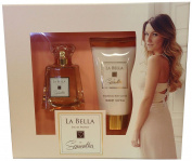 Samantha Faiers La Bella Gift Set contains Shimmer Body Lotion and EDP 100 ml