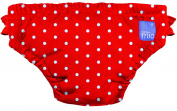 Swimming Trunks 12-15kg - Red Pea