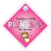 Daddy's Little Princess Car Sign, Baby on Board Sign, Daddy's little princess on board car sign, Daddy's Princess, Baby on board, Baby Car Sign, Car Signs, Bumper Sticker, Princess Car Sign, Princess On Board Sign, Baby Sign, Baby Car Sign