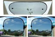 Car Rear Window Sun Shade & 2PCS Window Sunshades SET