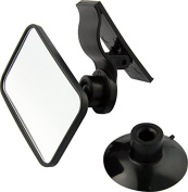 Helly BS 863, Additional Car Mirror, incl. Suction Cup and Clamp, 1 Piece