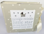 Mum To Be Present Baby Shower Gift Favour Mummy Unisex Keepsake-'Twinkle' Photo Album