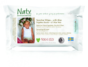 Naty by Nature with Aloe Sensitive Wipes -12 x Packs of 56