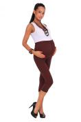 Futuro Fashion Maternity Leggings Cropped 3/4 Length Cotton Leggings Very Comfortable All Sizes