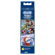Oral-B Stages Avengers Kids Replacement Heads - Pack of 4