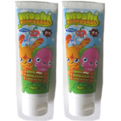 Moshi Monsters New Formulation Striped Bubble Gum Flouride Toothpaste 75ml