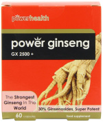 Power Health 100mg Ginseng GX2500+ - Pack of 60 Capsules