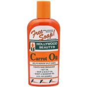 Hollywood Beauty Carrot Oil Repair Split ends liquid bottle 236ml