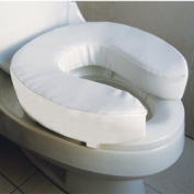 10cm Soft Raised Toilet Seat