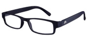 Montana MR91 Strength Plus 2.5 Black Reading Glasses