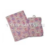 Newborn Baby Fleece Blanket Hooded Robe Swaddling Wrap Swaddle Dressing Gown Girl or Boy 0+ Months Unisex (Baby Blanket Cupcakes)