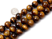 """16mm Round gemstone tiger eye stone beads strand 15"""""""