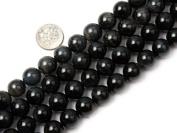 "12mm Round blue tiger eye stone beads strand 15"""