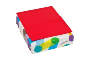 Mohawk BriteHue Red 11kg/60 Vellum Text Paper 22cm x 28cm 500 Sheets/Ream (Sold as 1 Ream)