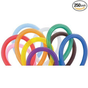 Qualatex 260 Latex Balloons Assorted Colours 250 per package