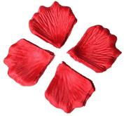 Viskey 300 pcs Petals Confetti for Wedding Decoration, Red