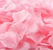 Viskey 300 pcs Petals Confetti for Wedding Decoration, Pink
