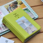 64 Pockets Photo Album for Mini Fuji Instax Polaroid & Name Card Fruitgreen