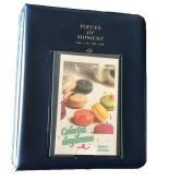 64 Pockets Photo Album for Mini Fuji Instax Polaroid & Name Card Darkblue