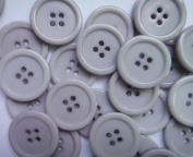 Wholesale Lots 100pcs 18color Pick 25mm Flatback Resin Sewing Clothes Fasteners Buttons