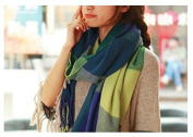 GOODBUYER Women Girls Fashion Soft Scarf Wrap Chiffon Shawl Silk Scarves