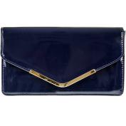 fi9® Patent Leather Bridal Wedding Evening Handbag Party Purse Clutch Shoulder Hand Bag
