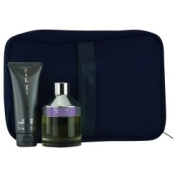 PAL ZILERI BLU DE PROVENZA by Pal Zileri (MEN) PAL ZILERI BLU DE PROVENZA-EDT SPRAY 100ml & BODY SHAMPOO 70ml & TRAVEL TROUSSE